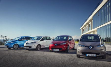 Renault ZOE Z.E. 40 Example Colours (Image: Renault)