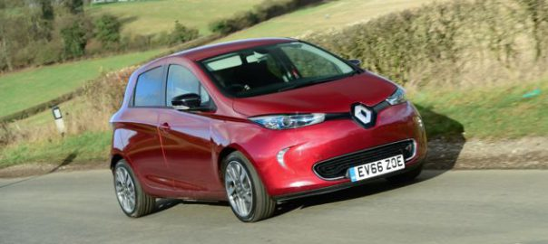 Renault ZOE Z.E. 40 in Mars Red (Image: NGC)