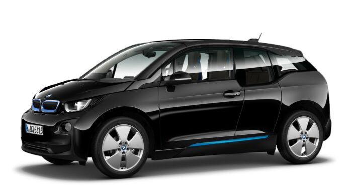 BMW i3 in Fluid Black (Image: BMW.co.uk)