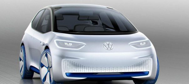 Volkswagen ID Concept electric car (Image: VW)