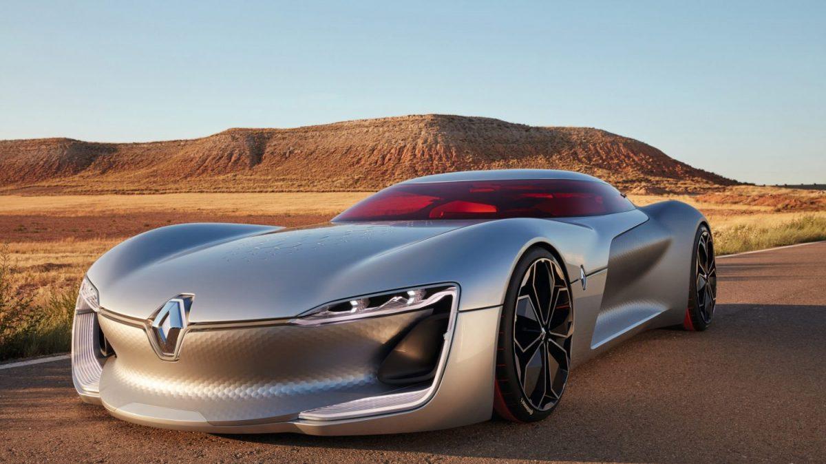 Renault Trezor Concept electric car (Image: Renault)