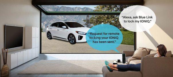 Just Ask Alexa... (Image: Hyundai)