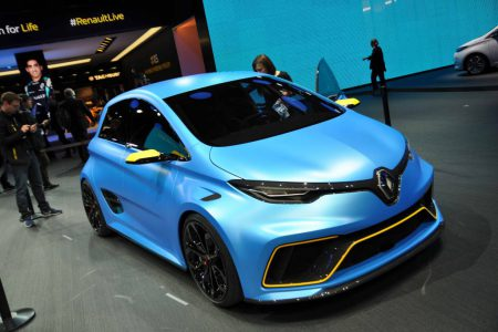 ZOE E-Sport at Geneva Motor Show