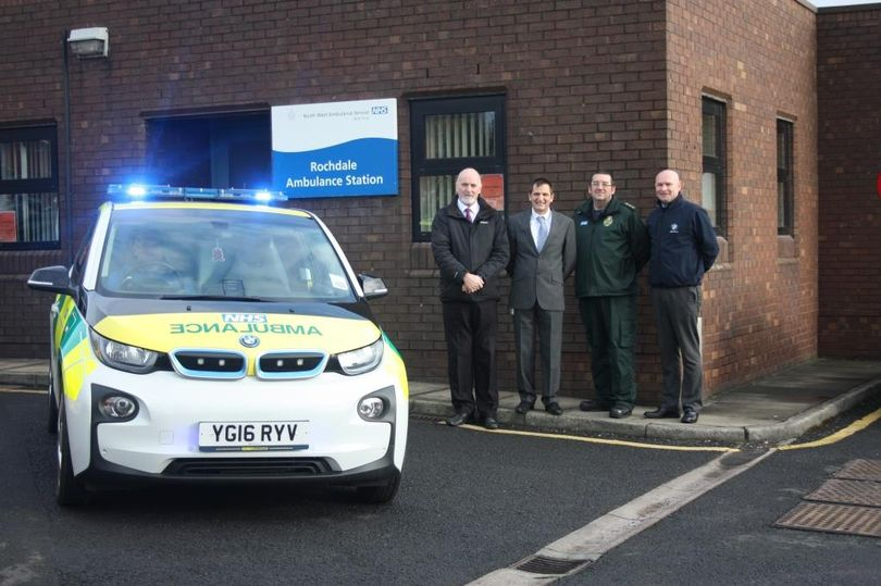 One of the new RRVs which is being trialled by North West Ambulance Trust