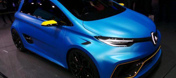Renault ZOE e-Sport Concept (Image: AutoExpress)