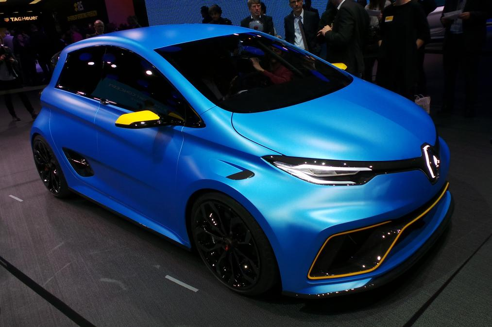 renault zoe e sport concept whizzes into geneva 2017 my renault zoe electric car. Black Bedroom Furniture Sets. Home Design Ideas