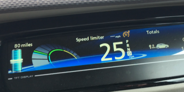 Driving style (example shown in Renault ZOE 22kWh)