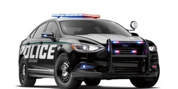 Ford launches 'green' police car to save the environment while fighting crime