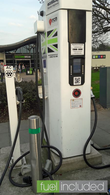 Rapid Charging With An Ecotricity Charge Point A New