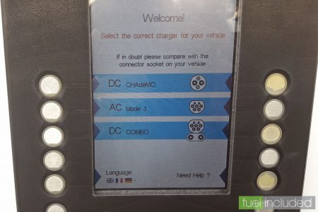 Rapid Charging Step 2: Welcome Screen (Image: T. Larkum)