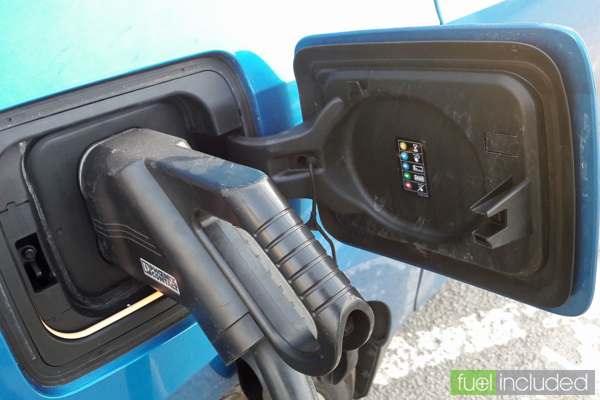 Rapid Charging Step 11: Car is Charging (Image: T. Larkum)