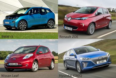 Most popular electric cars on cheap car leases (Image: Fuel Included)