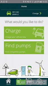 Rapid Charging Step 3: Choose to Charge (Image: T. Larkum)