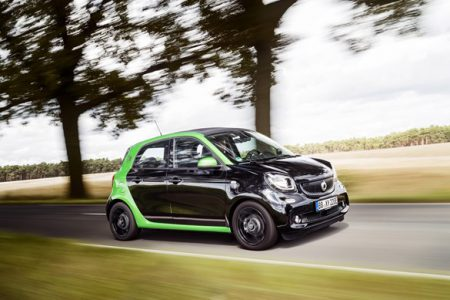 First Drive Smart Forfour Electric Drive Company Car Review A New