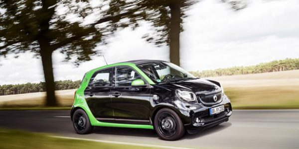 First drive: Smart Forfour Electric Drive company car review
