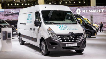 Renault Master Z.E. Electric Van (Image: Renault)