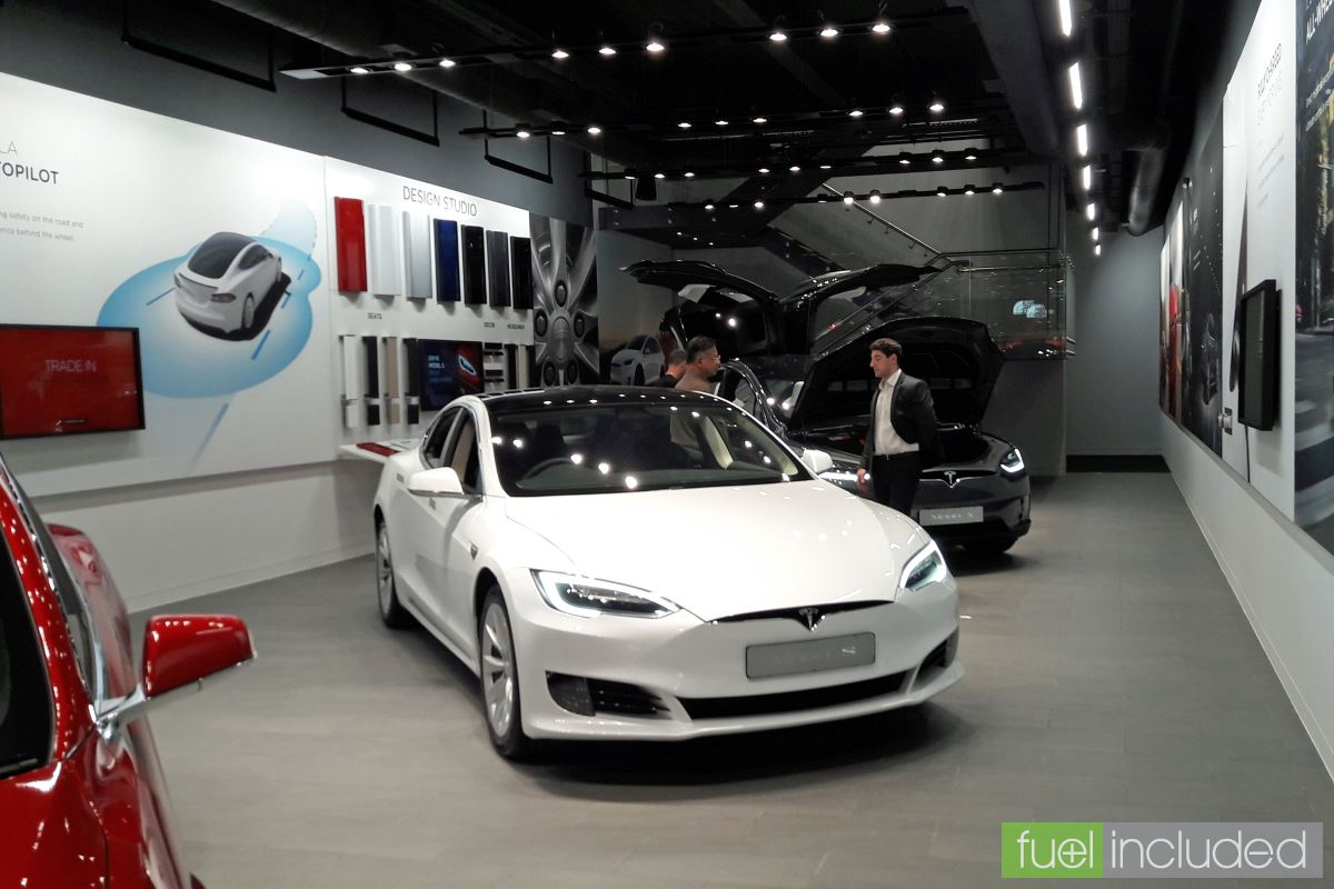 Tesla Home Battery >> Tesla Showroom Opens in Central Milton Keynes - Electric vehicle news by Fuel Included