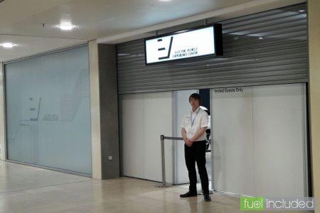 The new EV Experience Centre under wraps (Image: T. Larkum)