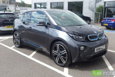 Used BMW i3 94Ah with Range Extender (Image: T. Larkum)