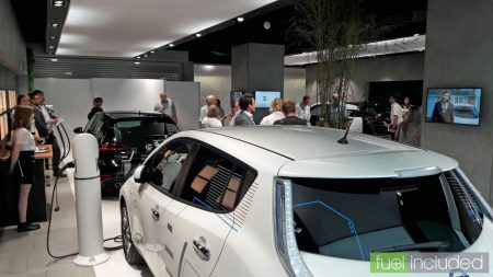 The Preview Event at the Electric Vehicle Experience Centre (Image: T. Larkum)