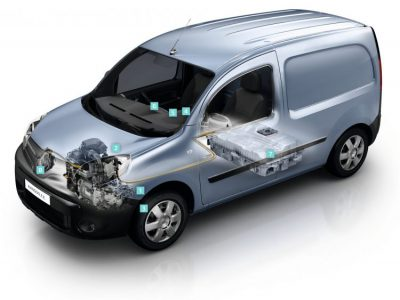 new renault kangoo z e gets larger battery motor charger and heat pump a new angle on energy. Black Bedroom Furniture Sets. Home Design Ideas