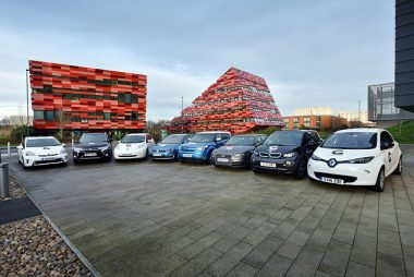 Electric Car Line-up (Image: Go Ultra Low)