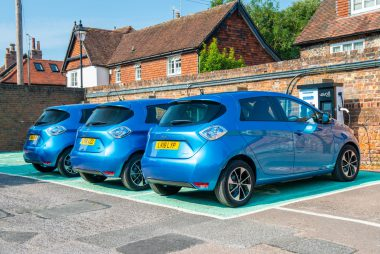 West Sussex Council Fleet Goes Electric With Renault ZOE (Image: Renault)