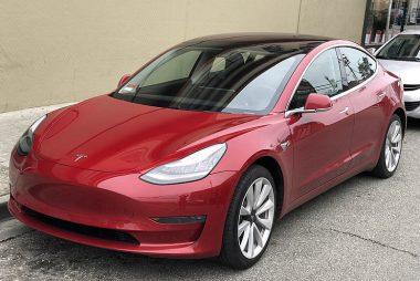 Tesla Model3 (Image: Wikimedia/Carlquinn)