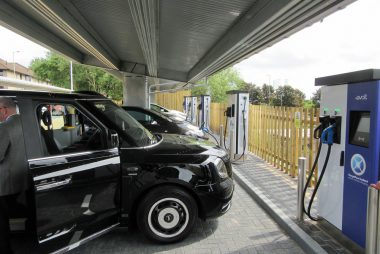 Solar EV Charging Hub on Princes Street, Dundee (Image: eVolt)