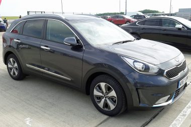 Kia Niro PHEV shown at Fully Charged Live (Image: T. Larkum)