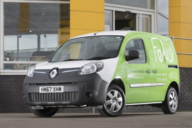One of Felix Project's Kangoo ZE electric vans (Imaged: Renault)