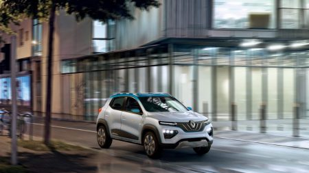 K-ZE All-electric Crossover (Image: Renault)