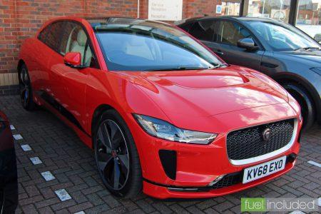 Jaguar I-PACE Electric Car (Image: T. Larkum)