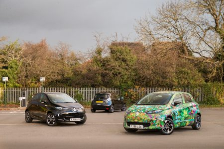 Europcar adds 85 ZOEs to its car-sharing service (Image: Renault)