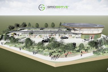Proposed Electric Forecourt (Image: GRIDSERVE)