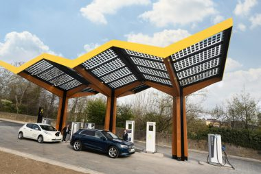 Charging Station in Sunderland (Image: Fastned)