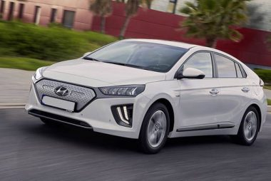 New longer range Hyundai IONIQ Electric (Image: Hyundai)