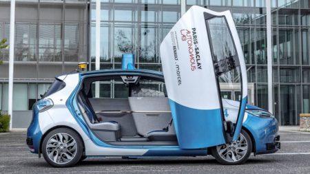 ZOE Cab autonomous vehicle (Image: Renault)