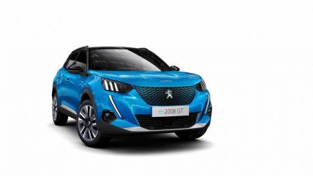 Peugeot e-2008 electric SUV (Image: Peugeot)