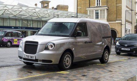 New LEVC electric van (Image: LEVC)