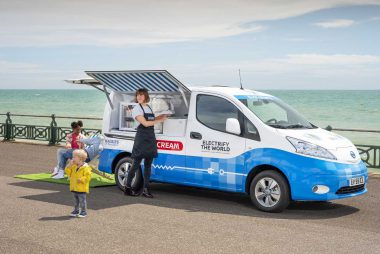Nissan's e-NV200 Electric Ice Cream Van (Image: Nissan)