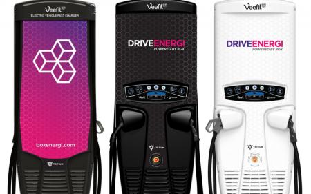 Drive Energi 50kW Tritium Veefil-RT chargers (Image: Drive Energi)