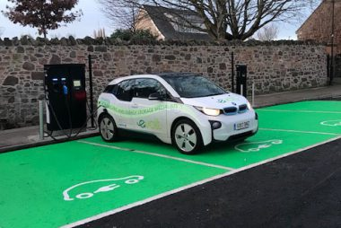 SWARCO eVolt is supplying 45 charging units, including 11 of its Rapid Chargers capable of charging two vehicles simultaneously in 30 minutes, across 28 sites in East Lothian (Image: eVolt)
