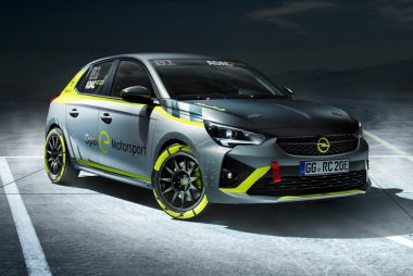 Opel Corsa-e Rally Car (Image: Opel)