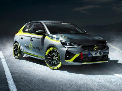 Opel Corsa-e Rally Car (Image: Opel)
