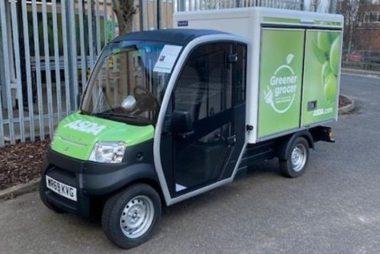 Asda electric delivery vehicle (Image: Asda)