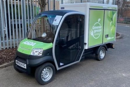 Asda electric delivery vehicle (Image: Asda)