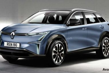 Renault electric SUV (Image: Auto Express/Playback)