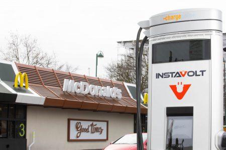 Instavolt rapid charger at McDonalds (Image: Instavolt)