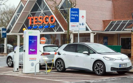 POD Point Rollout at Tesco Stores (Image: Tesco/POD Point)